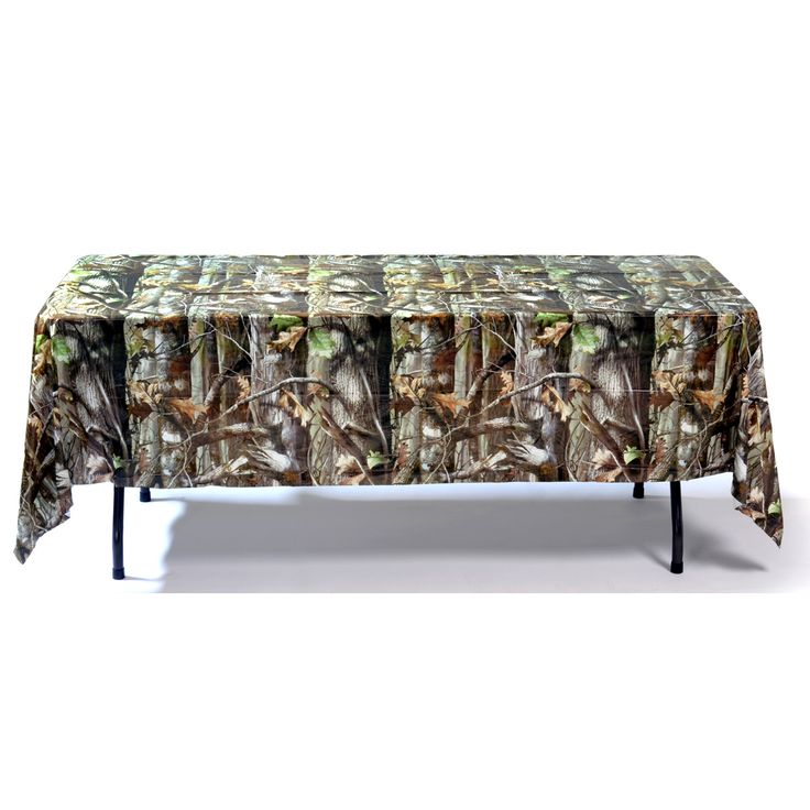 Camo Plastic Table Covers Red Neck Trading Post - Havercamp NEXT Camo Table Cover - Full Camo ...
