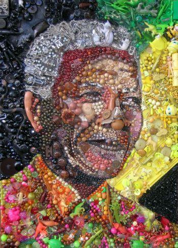 Nelson Mandela by Jane Perkins