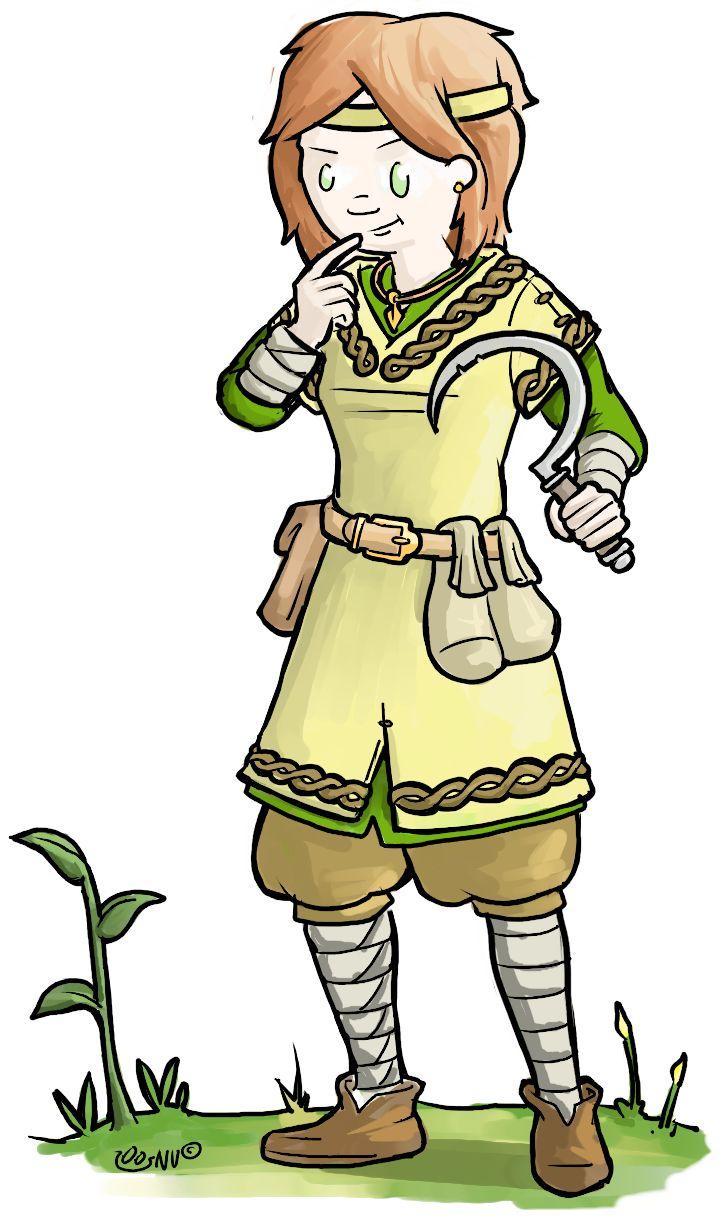 """Larp character Spring, kidslarp """"het wisselwoud"""" Gamesnstuff."""