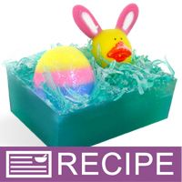 RECIPE: Bunny and Egg in Basket MP Soap - Wholesale Supplies Plus
