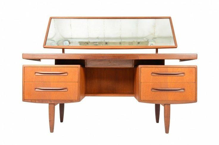 Mid Century Modern G Plan Fresco Floating Top Teak Desk ...