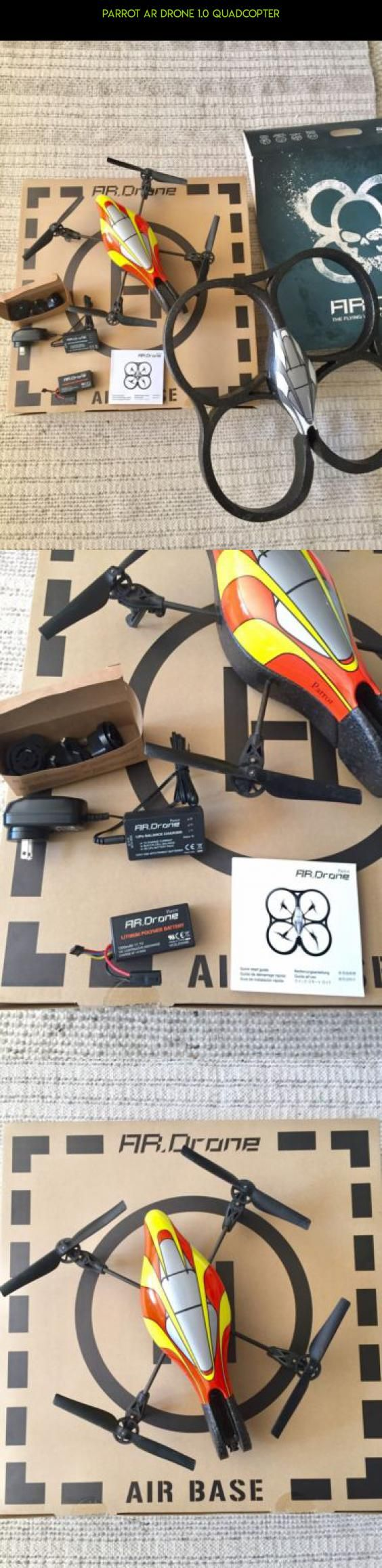 Parrot AR Drone 1.0 Quadcopter #camera #drone #kit #shopping #parts #fpv #gadgets #quad #products #plans #racing #parrot #copter #technology #tech