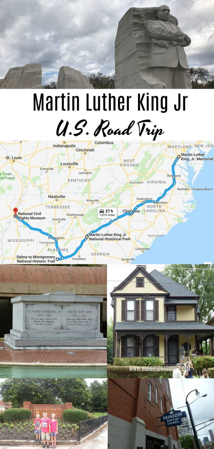 The best way to understand the life and impact of historical figures like Martin Luther King Jr is to visit the places that have direct ties to the events of their life. Here is the ultimate Martin Luther King Jr US Road Trip! #williamsonthego #martinlutherkingjr #MlkJR #roadtrips