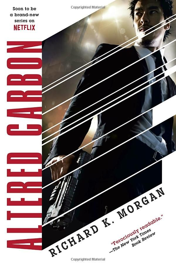 Altered Carbon Takeshi Kovacs Richard K Morgan Read With