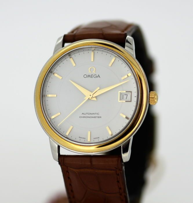 Currently at the #Catawiki auctions: Omega Automatic Chronometer Vintage Men's Swiss Made Stainless Steel Wristwat...