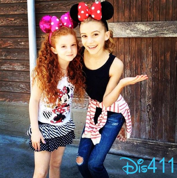 G Hannelius & Francesca Capaldi taking over Radio Disney's twitter September 12, 2014