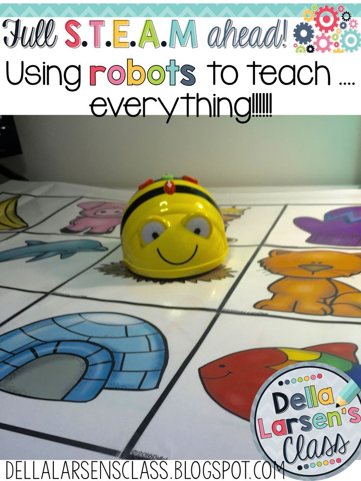 Ignite your reading and math centers with this fun BEEBOT robot. YOur kids will have so much fun coding they won't realize they are learning to read.
