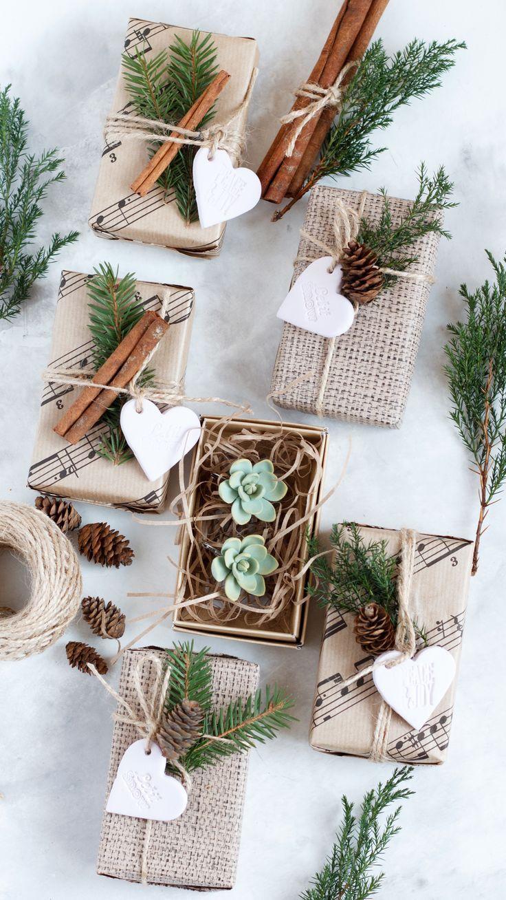 Succulent Christmas Gift – Succulent Earrings – Rustic Wedding Earrings – Succul