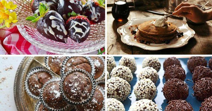 7 deliciosas recetas para postres saludables con chocolate