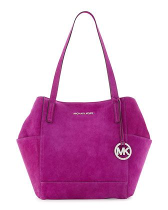 MICHAEL Michael Kors  Large Ashbury Suede Grab Bag.