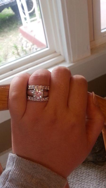 Our wedding bands :)! « Weddingbee Gallery