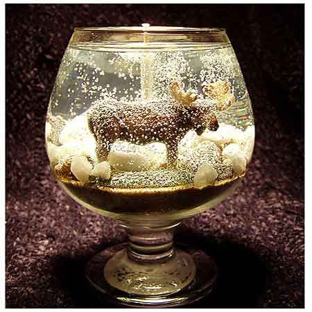 Wildlife Gel Candles · Candle Making | CraftGossip.com