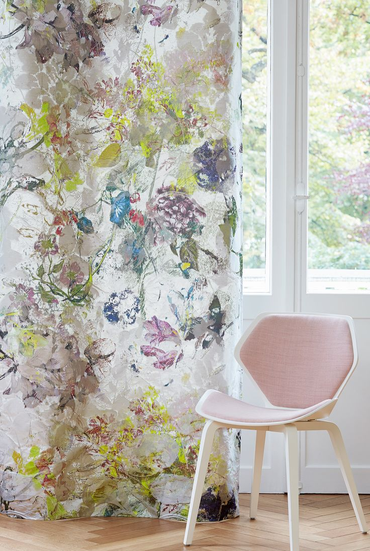 "Création Baumann presents the ""Silk & Spices"" Collection. Fabric ARTEMISIA"