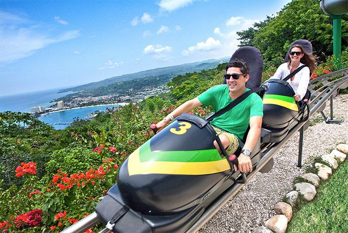 Rainforest Bobsled Jamaica at Mystic Mountain, Ocho Rios