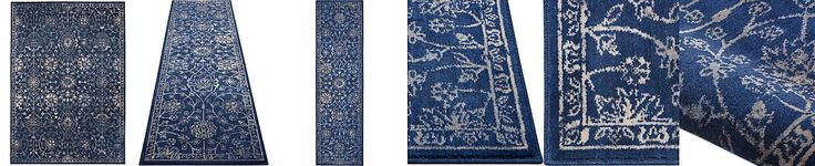 Kelly Ripa Home Origin KRH10 Navy Area Rugs, Only at Macy's
