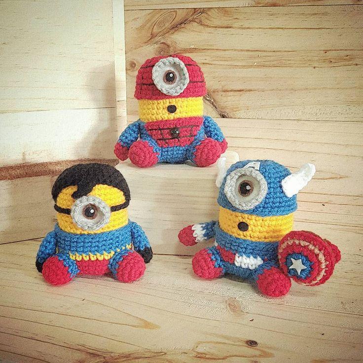 466 besten Crochet Minion Bilder auf Pinterest | Schergen häkeln ...