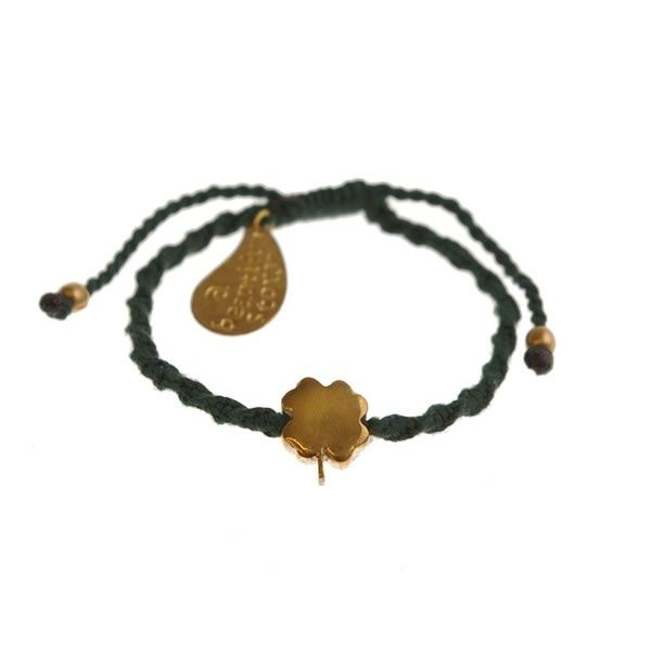 A Beautiful Story sieraden | Studio Art Styles  | Armband | handmade in Nepal | Good luck green bracelet