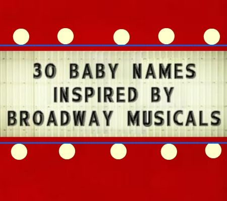 These names would be perfect for musical-loving parents, but are also great on their own!