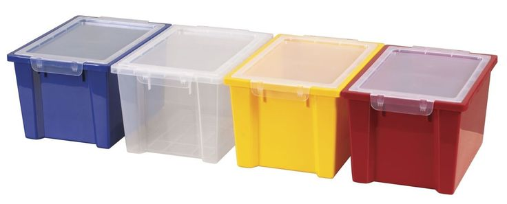 The ECR4Kids Large Storage Bins with Lids - 4 Pack is a great option for all your storage needs. Description from aaastateofplay.com. I searched for this on bing.com/images