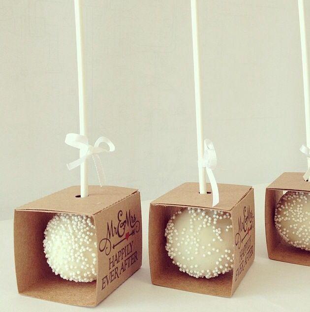 Cake Pop Boxes @psmadewithlove #SenhoraInspiracao                                                                                                                                                                                 Más