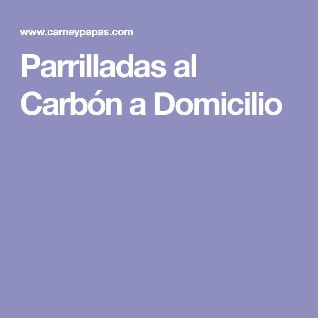 Parrilladas al Carbón a Domicilio