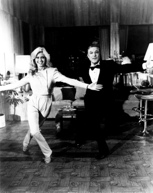 Olivia Newton-John and Gene Kelly