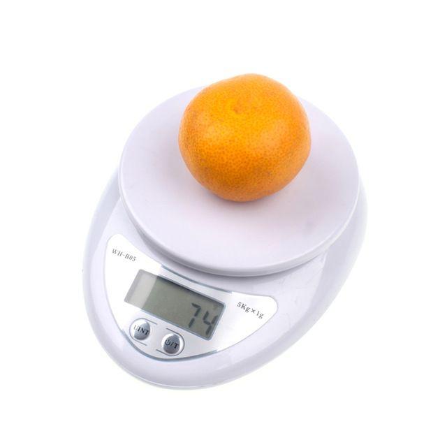 Envío rápido 5 kg escala Digital de Cocina Comida Dieta Postal escala Escalas del peso de balance escala Electrónica de peso LED electrónica