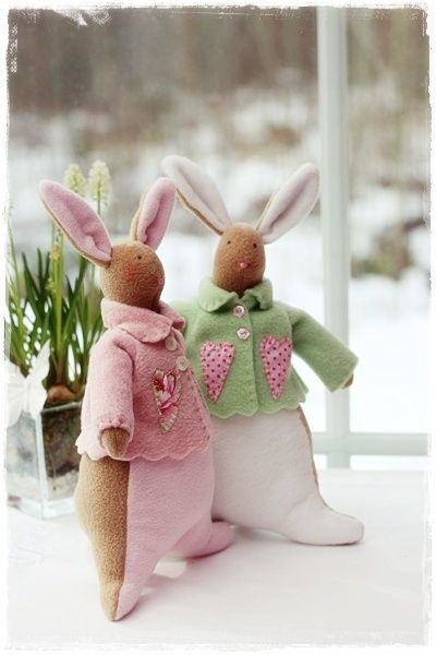 tilda bunnies: Dolls Tilda Maileg, Crafty Stuff, Tilda Doll, Easter Bunnies, Inspiring Ideas, Easter Spring Ideas, Crafty Critters