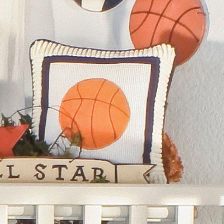 Brandee Danielle All Star Basketball Decorative Pillow - 140CAS