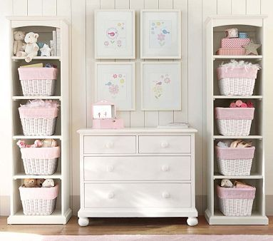 To frame the day bed..... Catalina Storage Tower #PotteryBarnKids