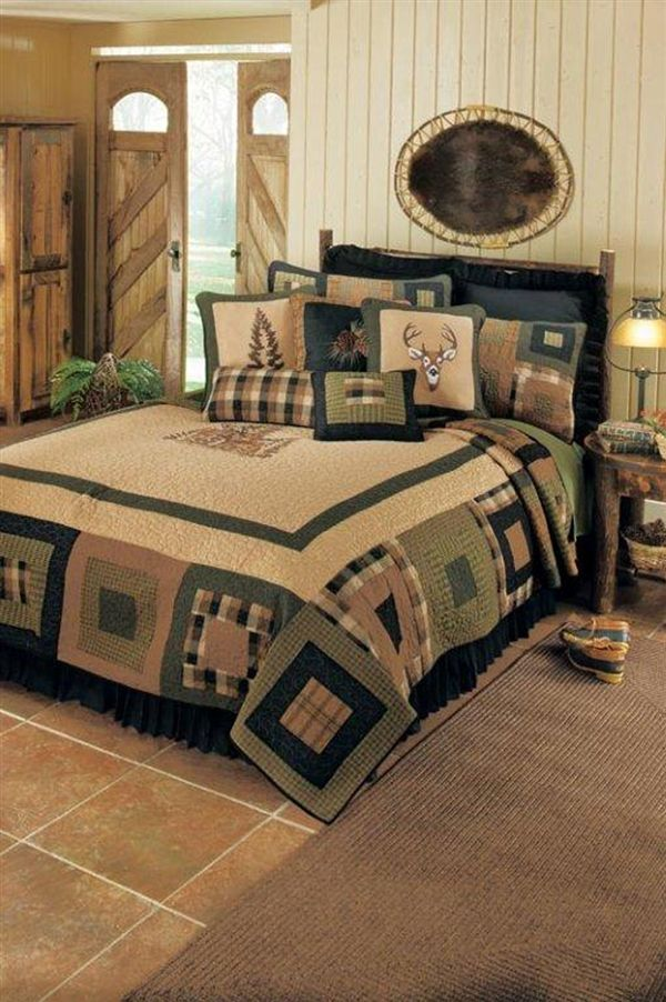 Donna Sharp Deer Blocks Quilt Collection - Paul's Home Fashions