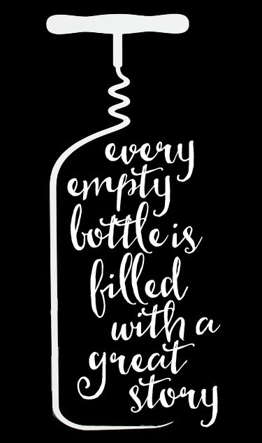 Wine - Every Empty Bottle 2 // 14x23 // $65 // Easy