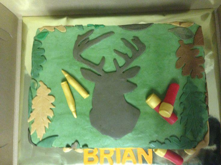 """Deer Hunting Cakes   Deer Hunting Cake 9"""" x 13"""""""