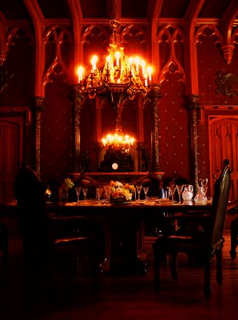 102 best images about Elegant Gothic Dining Room on Pinterest ...