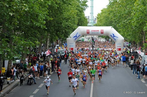 """Après une première édition réussie l'an passé à Paris, le """"10 km l'Equipe"""" organisé par ASO (Amaury Sport Organisation) s'exporte à Fréjus et Lyon."""