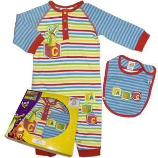 Baby Boys ABC 3 Pce Boxed Set