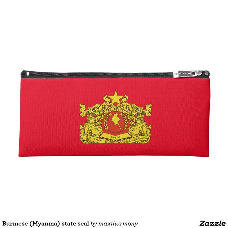 Burmese (Myanma) state seal Pencil Case