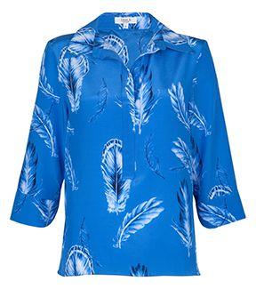 fleur b. Feather Shirt