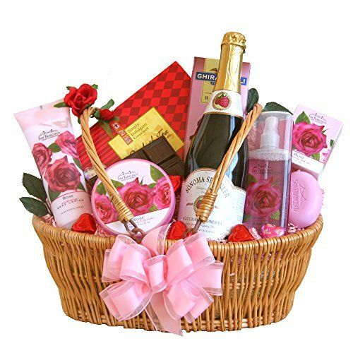 10 best Valentine Day Baskets Women images on Pinterest ...