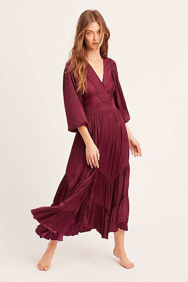 4b6d7022c37 I Need To Know Shiny Maxi Dress in 2019