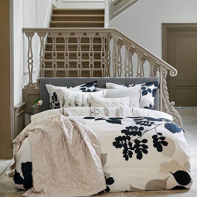 De nieuwe najaar/wintercollectie van het Nederlandse bed- en badmodemerk Vandyck (sinds 1923) is sterk geïnspireerd door natuurlijke vormen en kleuren.