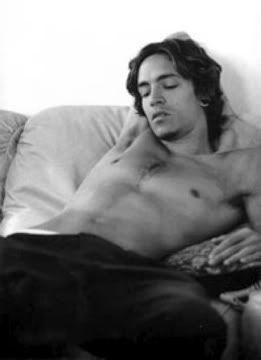Brandon Boyd of Incubus.  One of the few white men that make me drool.  Could be his clever lyrics and perfect voice...eye and ear candy.