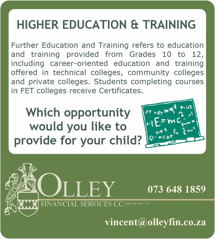 Higher Education and Training - Why we still need qualified experts in our workforce!