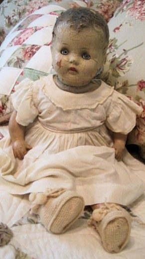 Looks like my beloved baby doll, Maria, that I had as a child.