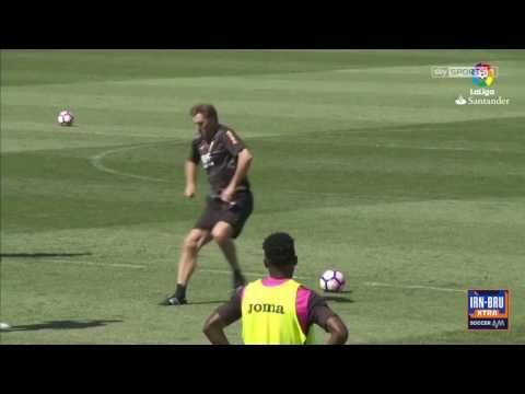 Having taken over as Granada coach this week, Tony Adams has immediately gotten down to business with a pretty unique approach to training.