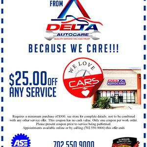 Why always Delta Auto Care is best for classic car repairs? We offer fast, reliable, quality service with Financing 12/12 No Interest and worry-free Nationwide Warranty. #autorepair  #qualityautoservice  #Nointerest   #autocare
