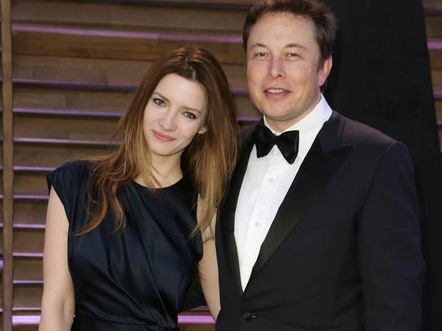 15 Stunning Wives Of The World's Richest Men - Talulah Riley & Elon Musk