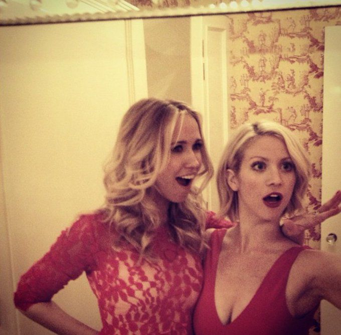 Brittany Snow And Anna Camp 1000+ ideas about Anna...