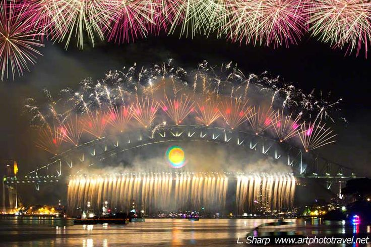 artphototravel » Sydney New Years Eve Fireworks