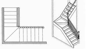 Г-образные лестницы | Лестница.com — Всё о лестницах и ограждениях